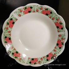 8 дюймов фарфоровая тарелка,китайская тарелка,суповая тарелка