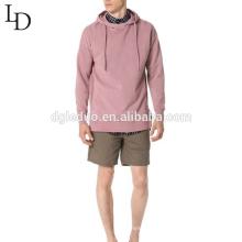 wholesale custom design cotton long sleeve men hooded sweatshirt