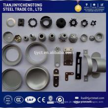 OEM personalizado de carbono / latão / aço inoxidável carimbando as peças