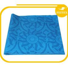 African New Coming Cotton Bazin/Guinea Brocade Oil Blue Color Feitex Textile