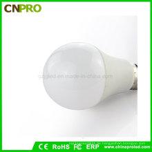Preminum Qualität Kunststoff Aluminium 7W E27 LED Glühbirne