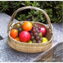 High Quality Handmade Natural Bamboo Basket (BC-NB1028)