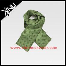 Green 2015 New Printed Silk Scarf