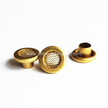 Brass Mesh Eyelets for Leather