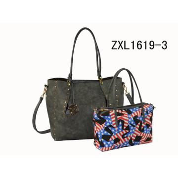 Custom PU Elegance Designer Damen Handtasche Mode Taschen Damen Handtaschen (ZXL1619-3)
