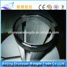 Elemento de aquecimento de malha de tungsténio puro para aquecimento eléctrico