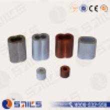 Manchon de câble métallique ovale en aluminium DIN3093