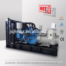 With MTU engine stanby power 1000kw 1250kva diesel generator set for sale