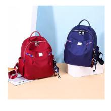 waterproof nylon bagpack school bag fashion shoulders bag