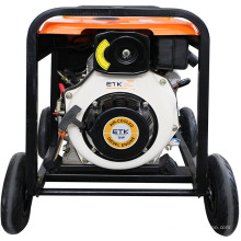 Generador diesel de 3kw con ruedas grandes