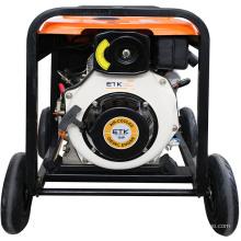 3kw Diesel Generator with Big Wheels