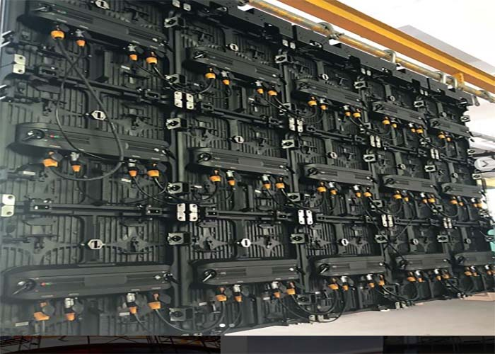 lower power consumption rental led screen