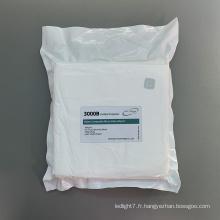 Lingettes pour salle blanche en polyester tricoté à texture douce 180 g / m2