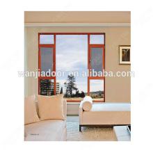prix des vitres insonorisées en aluminium inclinées et tournantes des fabricants de fenêtres