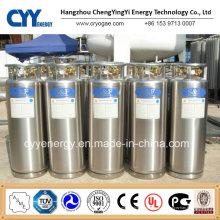 Niederdruck-kryogener Lox Lin Lar Lco2 Dewar-Zylinder