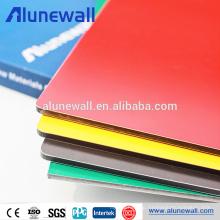 Exterior PVDF A2 Fireproof Alluminum Composite Panel Price list
