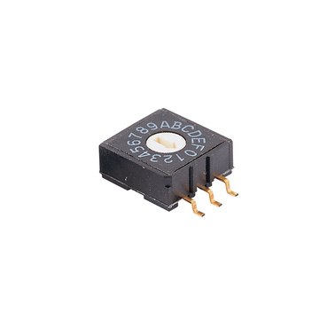 Multi-position16 posiciones 24V Micro Rotary Switch