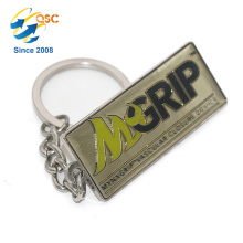 New design hot selling custom Hand Stamped Custom Promotional Gifts Keychain