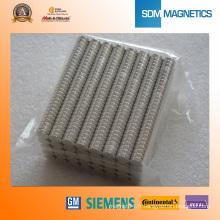 Aimants de capteur en néodyme N35sh D4.4X6mm pour Sw