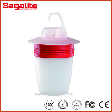 Li Battery Powered Portable LED Camping Lantern with ABS Plastic
