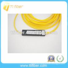 2 way mini Plastic box SC UPC FBT optic fiber splitter