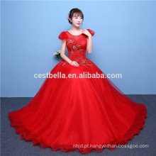 2017 Brilhante Diferentes Color Tulle Ball Gowns Cocktail Dresses Red Blue Plum Puffy Ball Gown