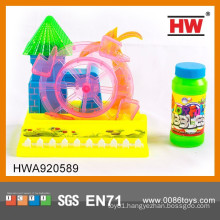 Interesting B/O Cartoon Blowing Bubble Machine Toys