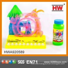 Interessante B / O Cartoon Blowing Bubble Machine Brinquedos