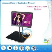 publicidade de mesa de restaurante visor LCD 10 polegadas pequena