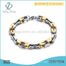 Fashion long chain bracelet,sports slap bracelet,waterproof bracelet