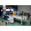Manga automática sellado encogimiento empaquetadora con acero inoxidable tubo de calefacción para complejo de PP PE PVC POF película laminada