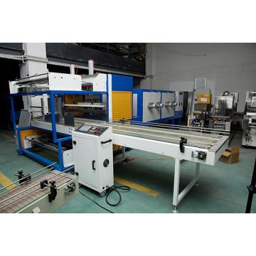 Automatische Sleeve Abdichtung schrumpfen Verpackungsmaschine mit Edelstahl Heizung Rohr Rohr für PE PVC POF PP Komplex Film laminiert