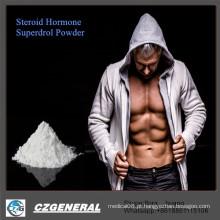 Pós esteróides de Methyldrosta-Nolone Superdrol da pureza do pó 99% do halterofilismo da hormona