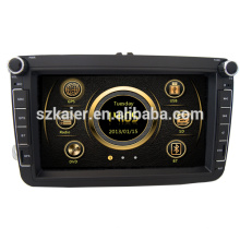 Neues Design Dual Zone Wince Auto deckless Medien für VW Sagitar / Magotan / Polo mit GPS / Bluetooth / Radio / SWC / Virtual 6CD / 3G / ATV / iPod