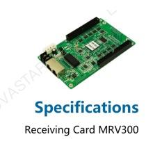 Led muestra la tarjeta de recepción regular de clase A MRV300