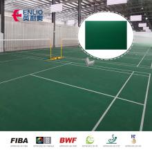 Pisos esportivos de badminton profissional Garnet 4,5 mm