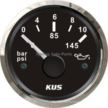 "2"" 52mm Oil Pressure Gauge Meter 0-10 Bar 12V 24V with Backlight"