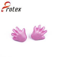 Bouton de couture plastique en plastique rose