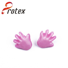 Pink Hand Plastic Sewing Button