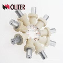 OLITER sumergible tipo hotsale desechable termoeléctrico desechable con tapa de escoria de aluminio y fabricante de alambre pt rh
