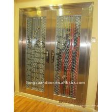 Main gate steel door