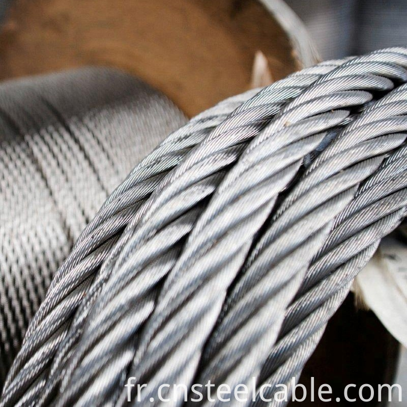 galvanize steel wire rope 2