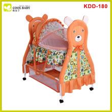 New design automatic swinging baby cradle