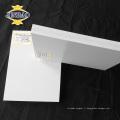 JINBAO haute brillance blanc pvc celuka panneaux forex feuille pour armoire de cuisine