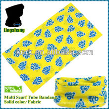LSB90 Ningbo Lingshang 100% polyester multfunction microfiber tube bandana headwear