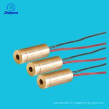 Module de ligne de laser de module de laser de tension d'opération de la puissance élevée 9mm 3VDC 650nm 20mw