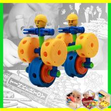 Bâtiments plastiques plastiques éducatifs pour enfants