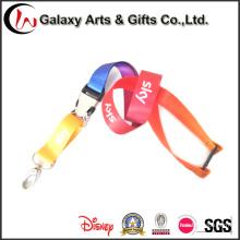 Colhedor de titular de cartão de identificação de impressão de transferência de calor colorido personalizado