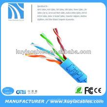 blue rj45 ethernet cat5e utp patch cord cable 1000FT