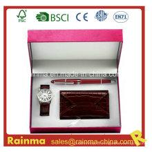 Watch Gift mit Brieftasche und Stift